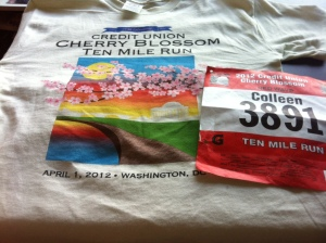 Race Shirt and Bib