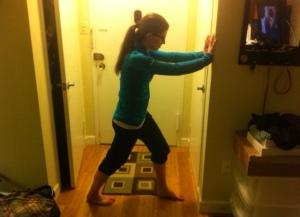 Calf Stretch - Knee Straight