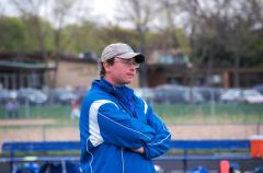 Ian in serious coaching mode.