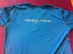 2005 Nike San Francisco Marathon shirt - back view