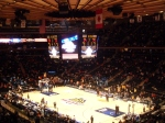 We're in! Our 1st game at the Garden - SU vs. Pitt