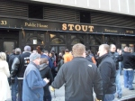 Enjoyed post-game beers instead of in-game beers at Stout this year!