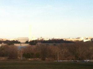 One of my favorite views into D.C.