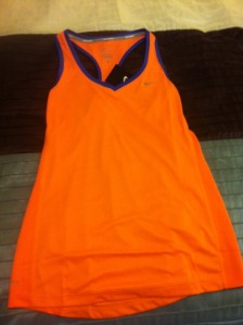 New Nike Running Top - So Orange!