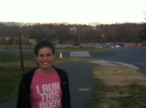 Rocking My I Run This Body Shirt!