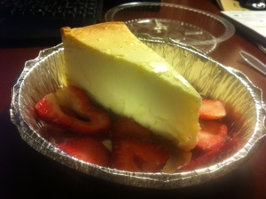 Delicious Strawberry Cheesecake