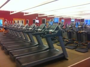 So many treadmills!
