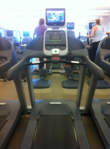 Always love the indivdual TV screens on treadmills.
