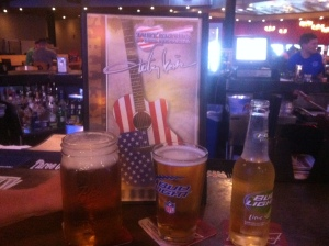 Drinks at the bar at new Toby Keith's restaurant in Syracuse