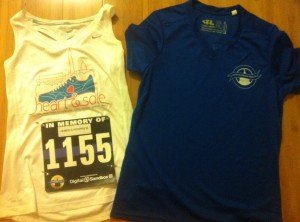 Police Week Bib and Race Shirt
