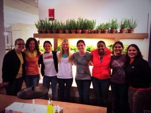Oiselle Team & Friends pre-Cherry Blossom Race