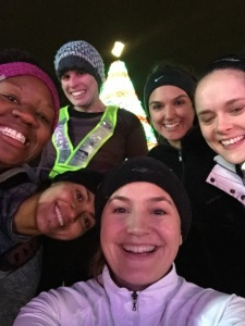 Holiday Lights Run - photo courtesy of Julie Anderson