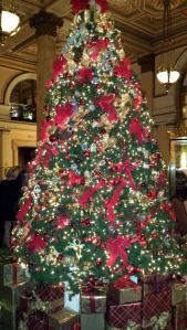 Christmas Tree Stop at the Willard