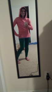 New Oiselle hoodie - bday present from my husband!
